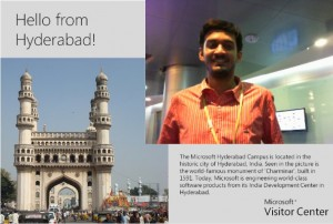Hello From Hyderabad