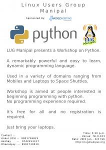 LUG Manipal python workshop